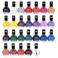 Pin Pai Nail Polish 26 Colors Vernis A Ongle 10ml Painted Nail Polish For Printing Art