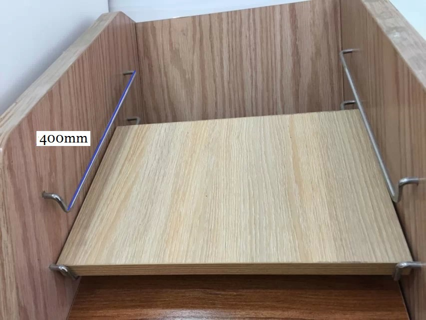 Great 10pairs/lot 400mm (16 Inches) Kitchen Cupboard Cabinet Door Sample Samples  Stock Display Rack Bracket Chrome Nice Ideas