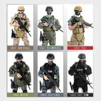 """NEW! 1pcs 12"""" 1/6 SWAT SDU SEALs Uniform Military Army Combat Game Toys Soldier Set with Retail Box Action Figure hot Model toys"""