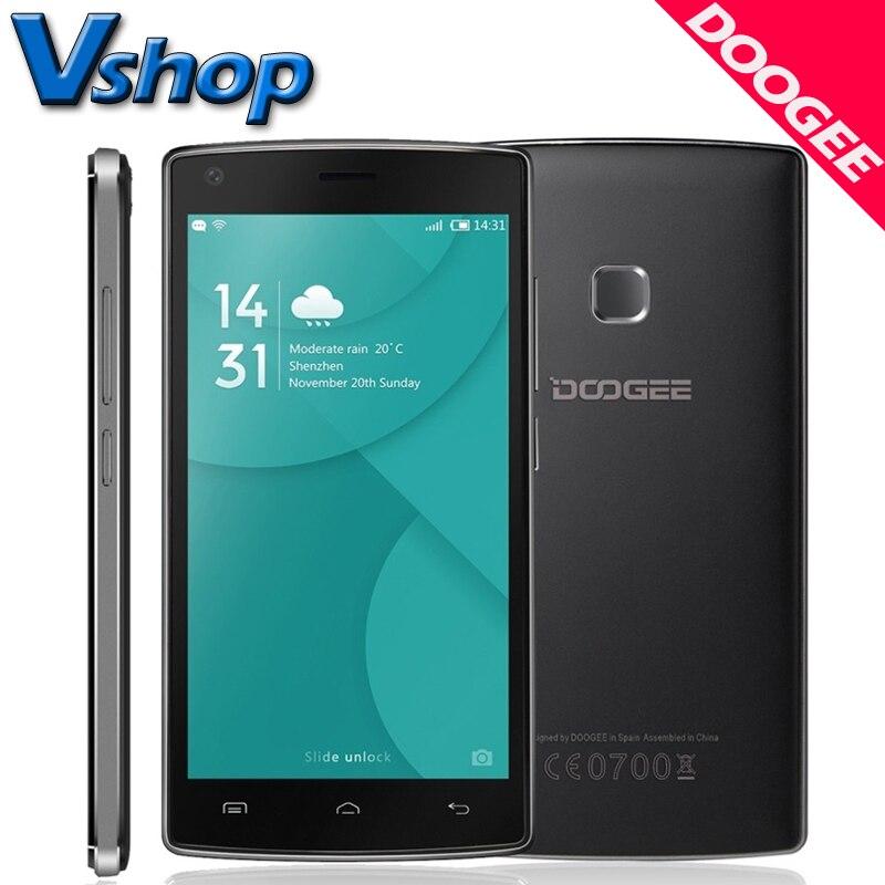 Original DOOGEE X5 MAX 3G Mobile Phone Android 6 0 1GB RAM 8G ROM MTK6580 Quad