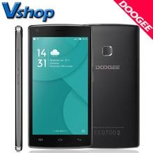 Original DOOGEE X5 MAX 3 Г Мобильный телефоны Android 6.0 1 ГБ RAM 8 Г ROM MTK6580 Quad Core 4000 мАч Батареи Dual SIM 5.0 дюймов Сотовый Телефон смартфон