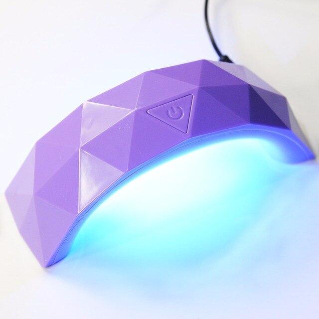 9 w LED Lamp Droger voor Nail Mini USB UV Lamp Machine Nail Gel Polish Droger Led Lamp Nagels Art salon Manicure 3D Tips Builder Tool