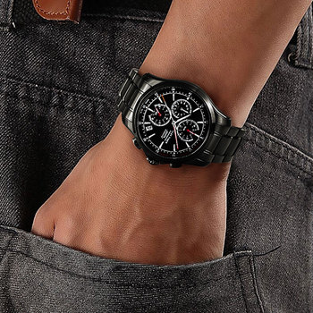 Reef Tiger/RT Watches Casual Sport Watches For Mens Super Luminous Quartz Watch Chronograph Watches with Date RGA1663