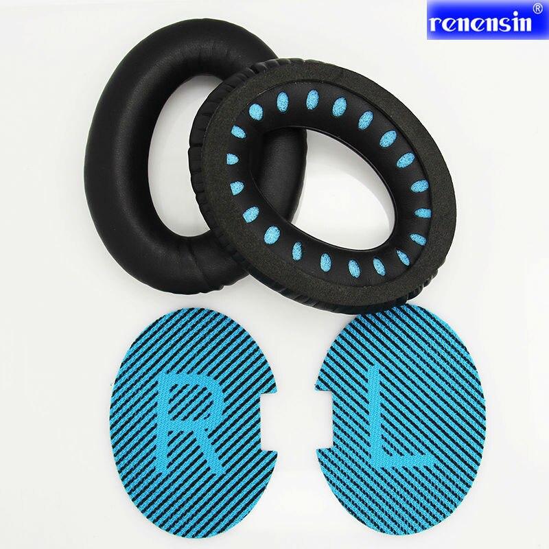 Protéines de haute qualité En Cuir Mousse Casque Ear Pads Coussin pour BOSE QC25 QC2 QC15 AE2 Casque ear pad oreillettes