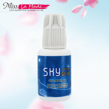 Sky glue for eyelash extension fast drying eyelash glue for false eyelashes from Korea  glue Last Over 4-6Weeks MSDS Adhesive все цены