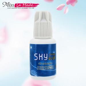 Image 1 - Sky glue for eyelash extension fast drying eyelash glue for false eyelashes from Korea  glue Last Over 4 6Weeks MSDS Adhesive