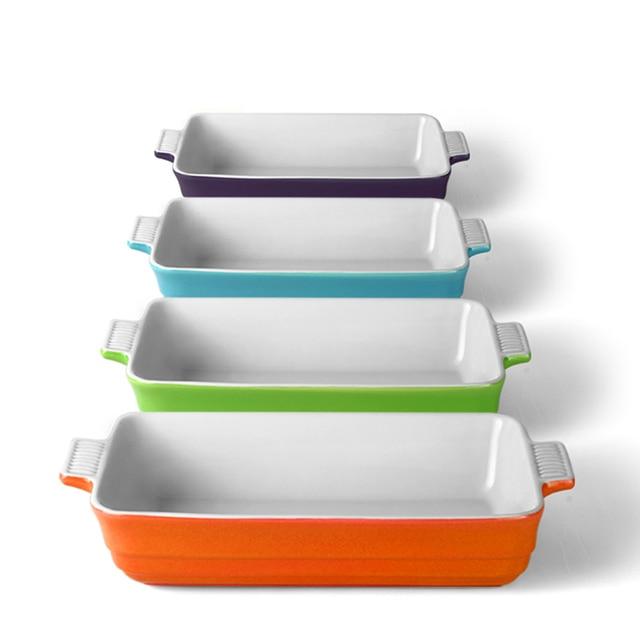Aliexpress Com Buy Rectangular Ceramic Baking Pan Dishes