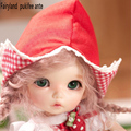 fairyland pukifee ante bjd silicone reborn baby dolls15cm toy sd 1/8 jiont resin kit dm dolltown volks elsa tsum