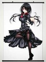 Wall Scroll Poster Fabric Printing For Anime Date A Live Tokisaki Kurumi