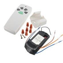 Лучшая Акция домашний потолочный вентилятор светильник комплект дистанционного управления универсальный европейский контракт 220-240 В