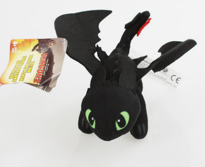 2017 23cm how to train your dragon toothless night fury kids plush toy doll for children gift. Black Bedroom Furniture Sets. Home Design Ideas