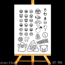 AZSG Ghost cloak Clear Stamps/seal for DIY Scrapbooking/Card Making/Photo Album Decoration Supplies