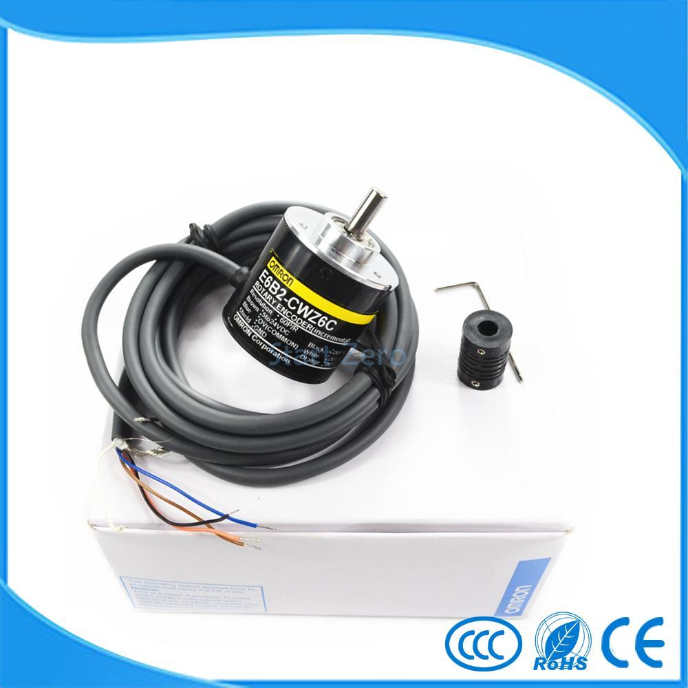 E6B2CWZ6C OMRON codificador rotatorio E6B2-CWZ6C 2500, 2000, 1800, 1024, 1000, 600, 500, 400, 360, 200, 100, 60 40 30 20 p/R 5-24 V