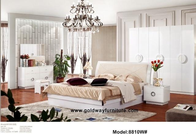 Para quarto nachtkastje 2016 hot koop direct selling luxe slaapkamer