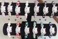 10mm olá kitty Cores misturadas frete grátis ab barro mais barato novo pode escolher a cor Contas de Cristal Pulseiras Shamballa dos homens das mulheres lote
