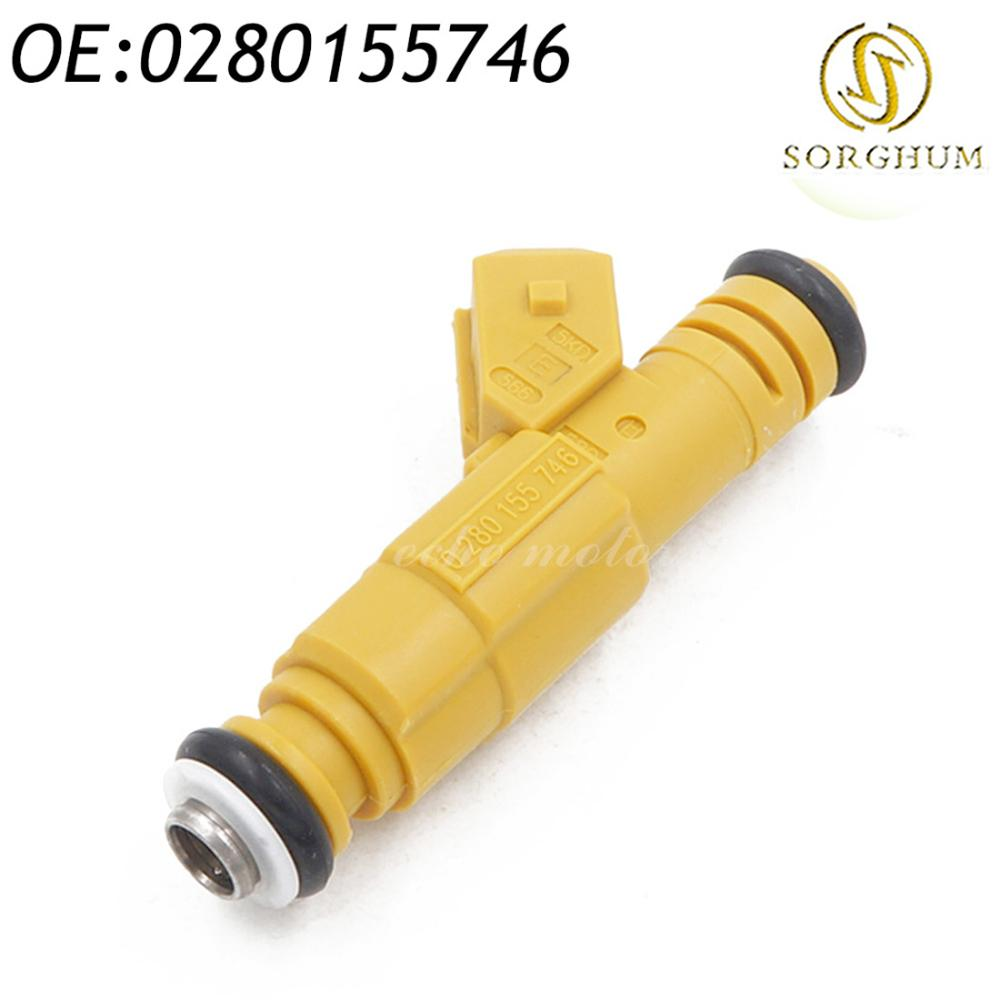 Fuel Injector Cost >> New 0280155746 Fuel Injector Fits For 97 98 Volvo 960 S90 V90 2 9l 87 98 Jeep 4 0l Dodge Chevy