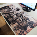 grande 90*40cm one piece mouse pad gaming mouse pad large cartoon Anime rubber mouse pad Keyboard Mat Table Mat PC Mousepads