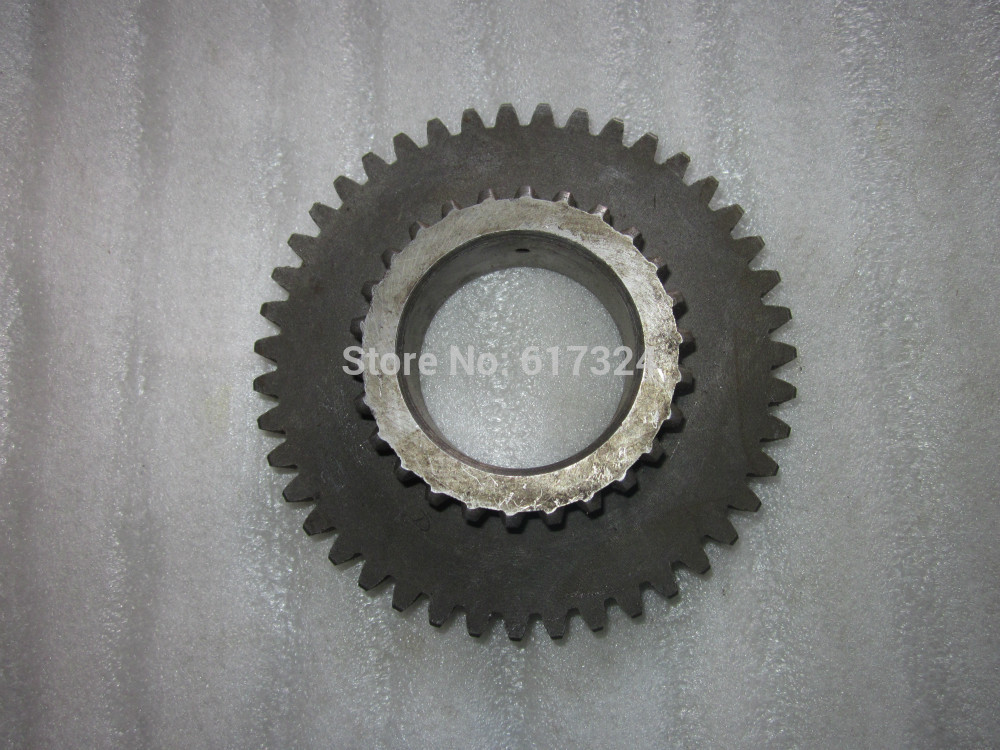 Weituo TY180 TY184 tractor parts, the gear (43 Teeth and 26 meshing teeth) , part number:184.37.402 ty180 ty220 ty250 the turning plumbing arm part number 240 40 101