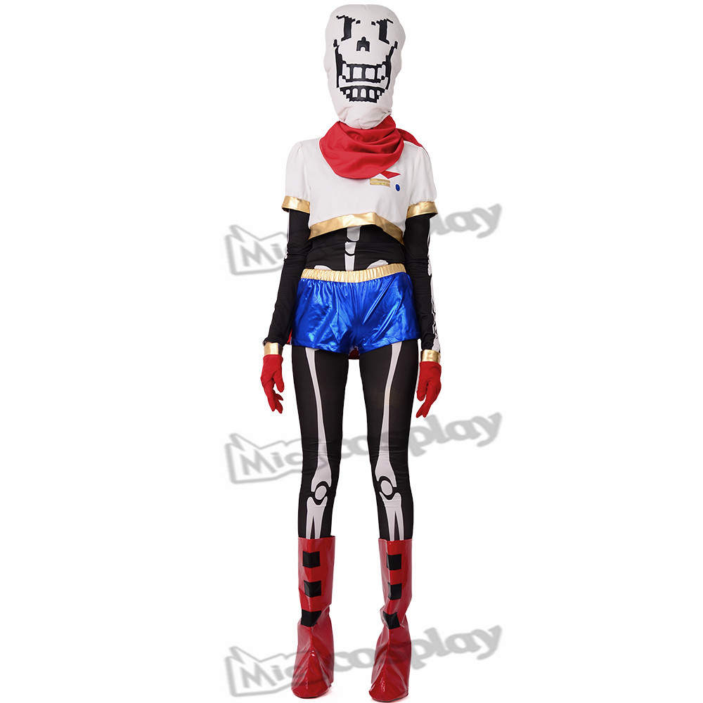 Anime Undertale Papyrus Cosplay Costume boot covers included