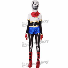 Anime Undertale Papyrus Cosplay Costume (boot covers included)