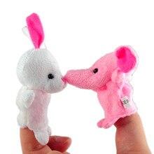 Куклы/дети fing игрушки/дети животных) историю игрушки/finger puppets/рассказать шт./лот, группы подарочные реквизит