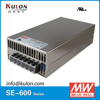 Original Mean well SE 600 AC /DC 48V 36V 27V 24V 12V 5V Power Supply ups Driver Voltage Transformer for LED Strip PSU