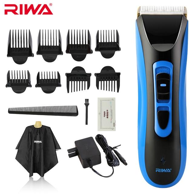 Riwa ipx7 класс водонепроницаемый профессиональная машинка для стрижки волос высокого качества ce сертифицированный cordless машинка для стрижки волос re-750a
