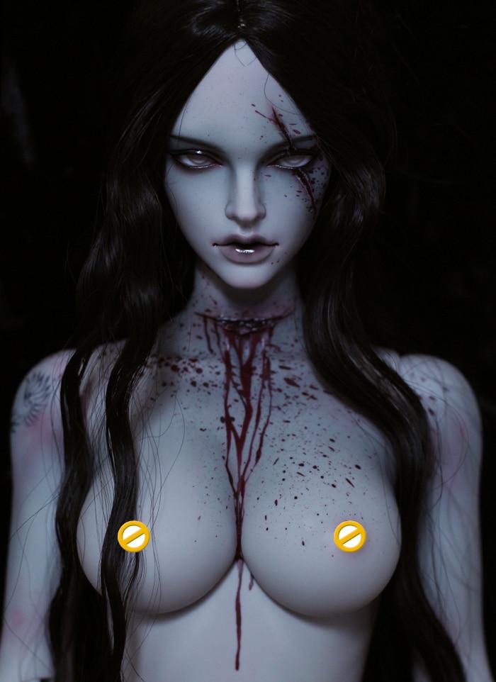 HeHeBJD 1 3 Doll fantasy Stella resin figures Vampires zombies doll Art doll manufacturer