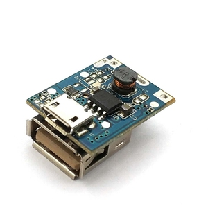 Image 2 - 1 Pcs 5V Step Up Power Module Lithium Battery Charging Protection Board Boost Converter LED Display USB For DIY Charger 134N3P