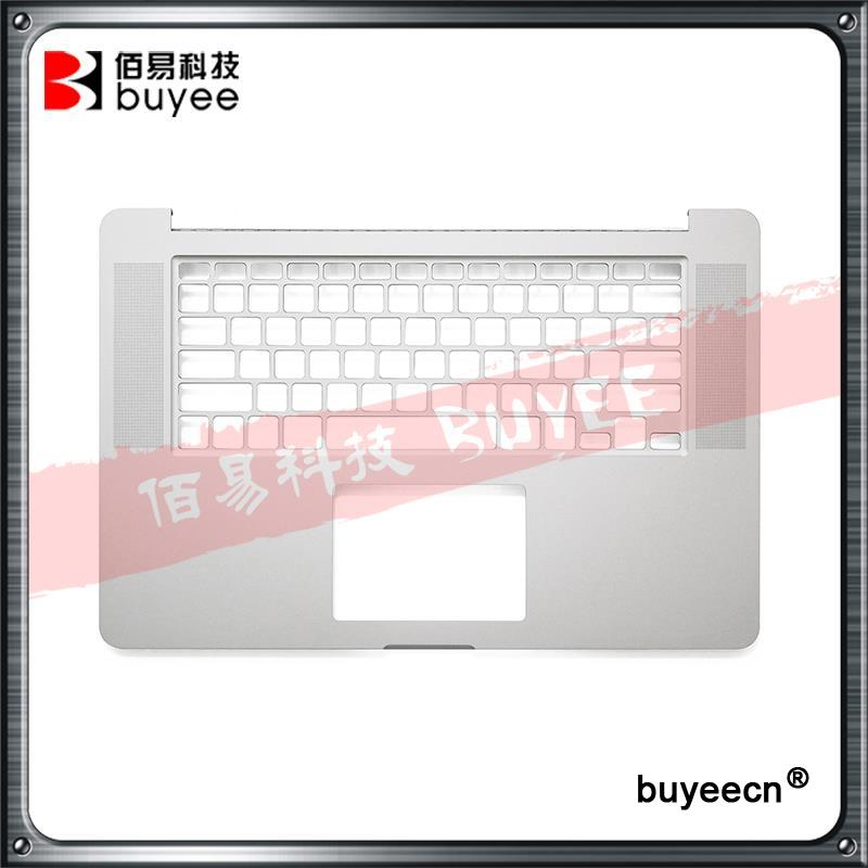 Original New Laptop A1398 Palmrest Topcase 2015 Year For Macbook Pro Retina 15.4'' A1398 Top Case Cover US Layout Replacement original new laptop a1708 azerty layout fr keyboards for macbook retina pro 13 inch a1708 french keyboard 2016 year replacement