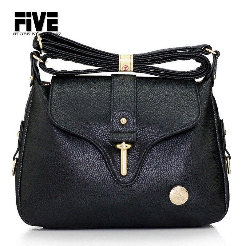 Fashion Women Handbags Genuine Leather Women Bags Casual Ladies Satchel Shoulder Messenger Bags Crossbody Travel Bolsas