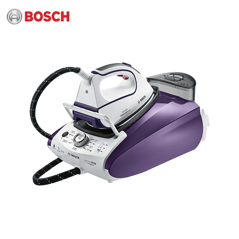 Bosch steam station TDS383110H steam generator iron household home appliances for ironing garment laundry high power esd bga rework station pcb preheat and desoldering ir preheating station soldering station electric soldering iron