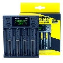 Liitokala Lii S4 LCD 3,7 V 18650 18350 18500 16340 20700B 21700 20700 10440 14500 26650 1,2 V AA AAA NiMH Зарядное устройство для литиевых батарей