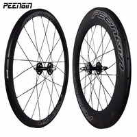 Carbon fixed bike gear bicycle fixie wheels 23mm Wheelset 38mm Front 88mm Rear Clincher hub accessory online popular sell to USA