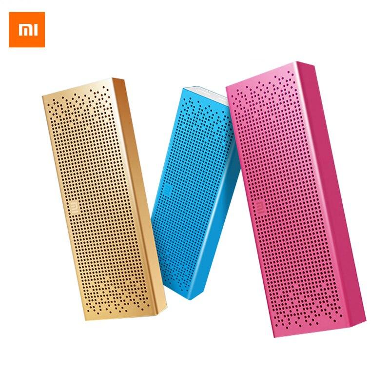 Original Xiao mi haut-parleur Bluetooth sans fil stéréo mi ni lecteur MP3 Portable de poche Support Audio mains libres TF carte AUX-in