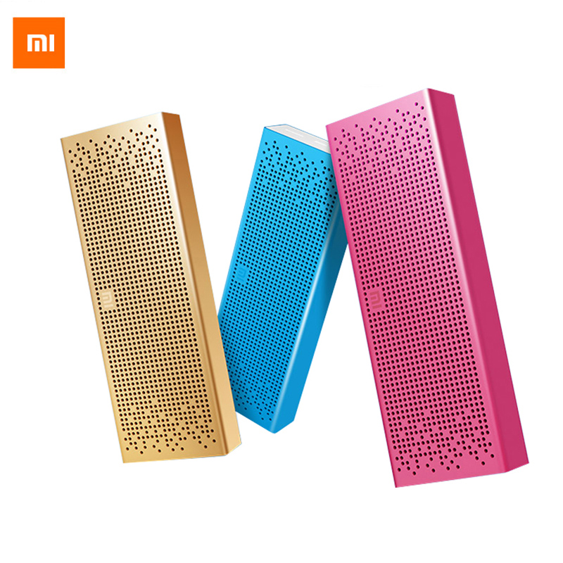 Original Xiaomi Mi Bluetooth Speaker Wireless Stereo Mini Portable MP3 Player Pocket Audio Support Handsfree TF Card AUX-in original xiaomi mi bluetooth speaker metal square box mini wireless stereo portable mp3 player handsfree bluetooth 4 0