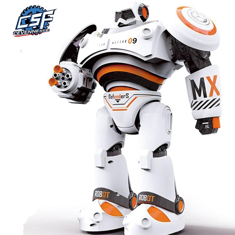RC Robot Intelligent Programming Remote Control Robotica Toy Biped Humanoid Robot For Children Kids Birthday Gift Prese