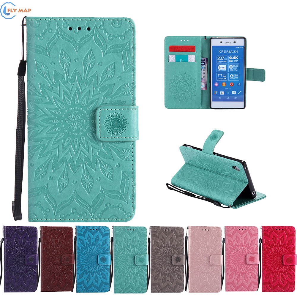 Case Cover For Sony Xperia Z4 Z 4 Dual E6553 E6533 Wallet Flip Phone Leather Coque For Sony Xperia Z3 Plus Z3Plus E 6553 6533