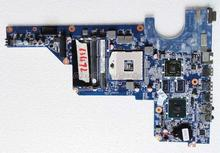 For hp G6 G7 G4 636372-001 Original laptop Motherboard DA0R12MB6E0 for intel cpu with HM55 HD6470/1G DDR3 Non-integrated graphic