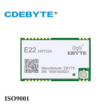 SX1262 230MHz E22-230T22S SMD UART Wireless Transmitter and Receiver RF Module RSSI Net Work Transceiver For IPEX Antenna