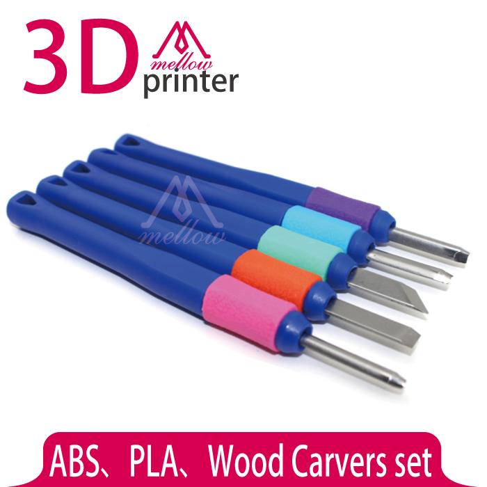 3D Printer DIY Tool Kit,Wood Carvers set,ABS and PLA Carving knife/graver for 3D Printer