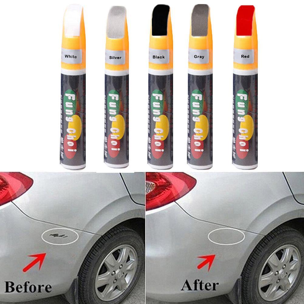 Professional 1pc 12ml 5 Colors Optional Car Scratch Repair Paint Pen Auto Care Auto Polish Paint Pen Repair Tool