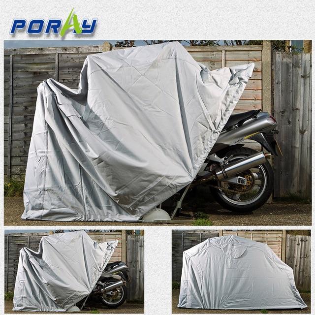 Poray Bike Shield Tourer (Large) Waterproof Motorcycle Shelter 600D oxford bike storage tent Storage & Poray Bike Shield Tourer (Large) Waterproof Motorcycle Shelter ...