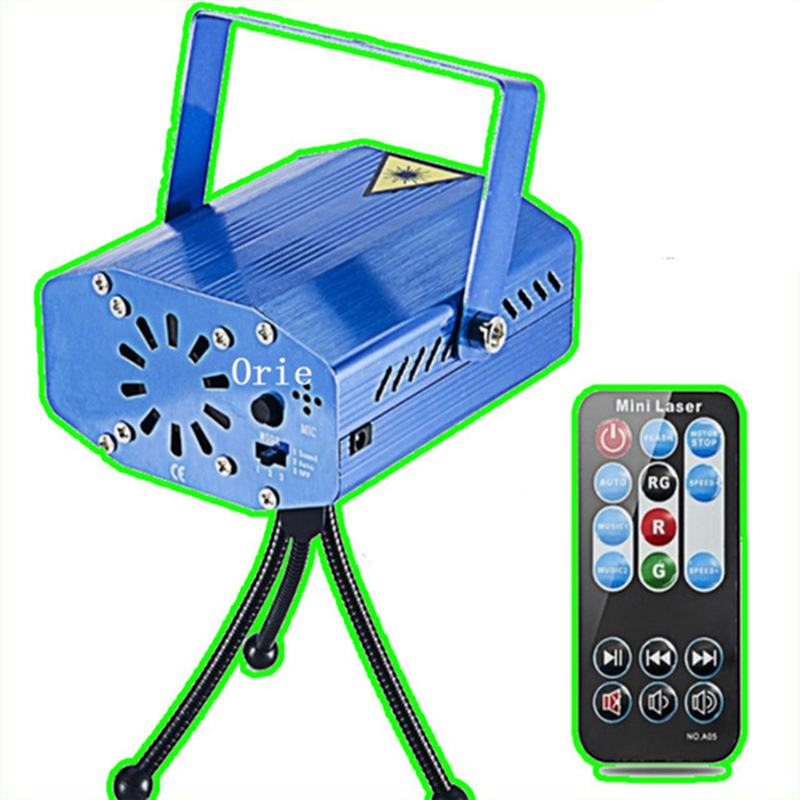 Mini RG Laser Projector for KTV Disco DJ Stage Xmas Party Show Club Bar Laser Light