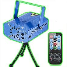 Мини RG лазерный проектор для KTV Дискотека DJ сценическая вечерние Рождественская вечеринка шоу клуб бар лазерный свет проектор сценическое освещение эффект