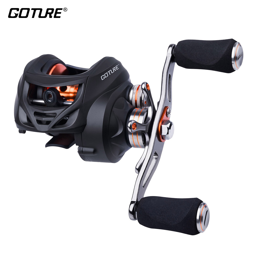 Goture New Xceed Fishing Reel 8KG Max Drag Centrifugal Brake Baitcasting Reel 6 3 1 11BB