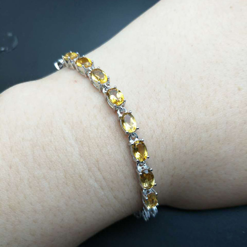 natural citrine bracelet quartz singapore and crystals