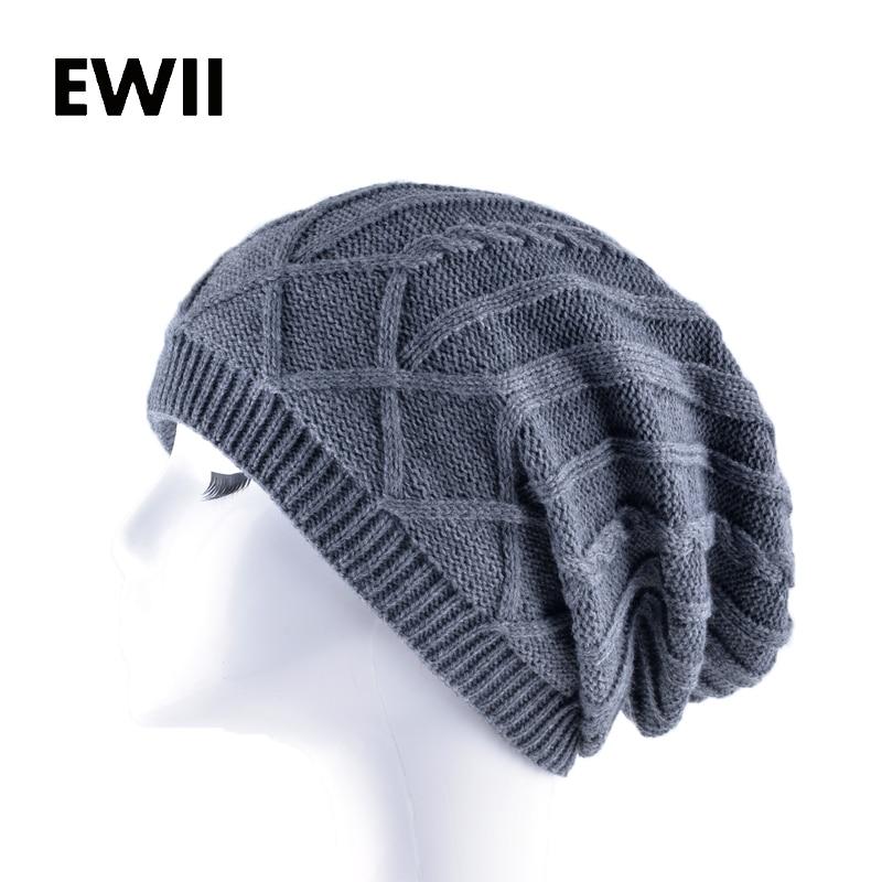 2017 Unisex warm knitted hat for men striped beanies cap women winter knit hats gorras men casual beanie caps skullies bone