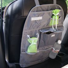 Universal Car Storage Bags Mesh Car Auto Back Seat Hanging Organizer Collector Bags Assorted Bag Luggage Holder Pocket