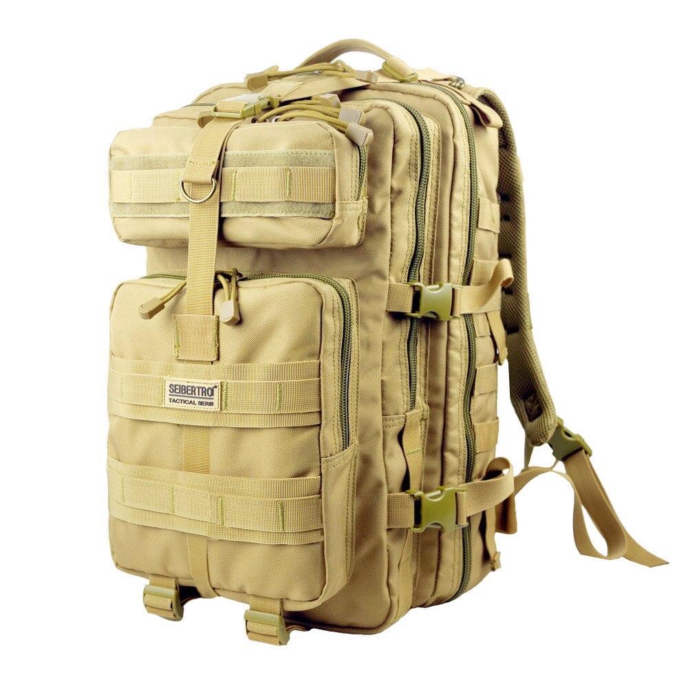 Seibertron extérieur tactique sacs à dos MOLLE étanche pour randonnée Camping alpinisme voyage chasse tir Jungle traversée - 3